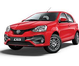 Toyota Liva Car For Rent