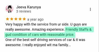 self drive reviews